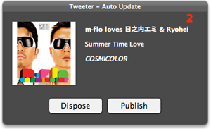 Tweeter for Mac Auto-update interactive