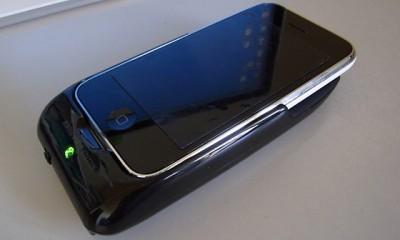 iPhone 3G/3GS用 パワージャケットiMPS-06が届いたよ