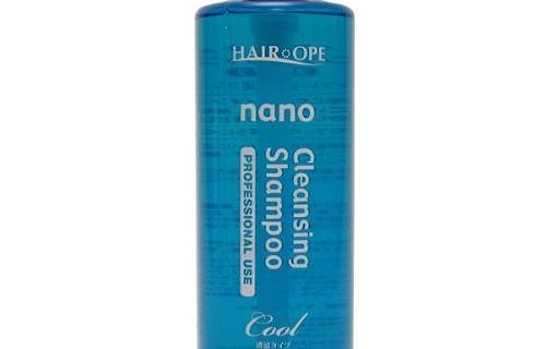 夏のシャンプーはナノサプリ清涼タイプ!