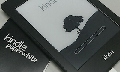 初Kindle Paperwhite、初Kindle本から一ヶ月