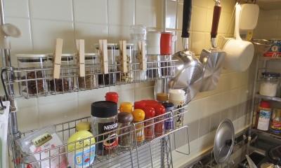 続々キチンをきちんと。調理台とコンロまわり編