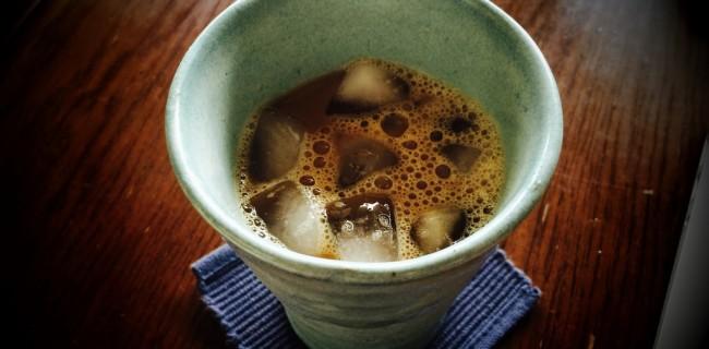 YouTubeで見つけた、冷珈器もどきで薄まりすぎないアイスコーヒーを作る法