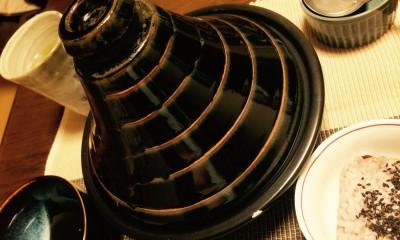 タジン鍋ひとつで鶏むね肉の塩レモン蒸し、からのリメイクパスタ