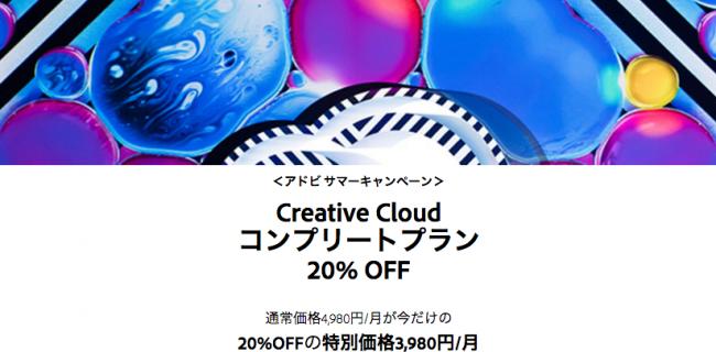 Adobe Creative Cloudのプランを変えたいのだ